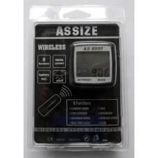 Беспроводной велокомпьютер ASSIZE AS 8000