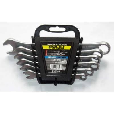 Sigma, ключи рожково-накидные 8-17 мм, набор