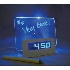 Часы - будильник с доской для сообщений