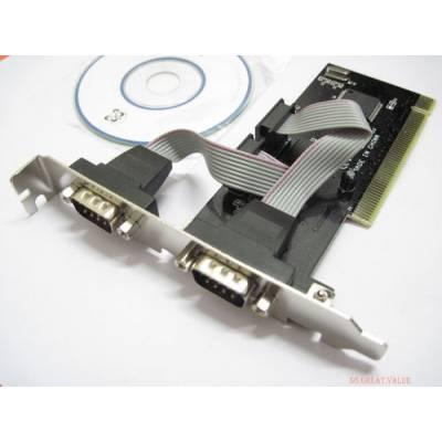 Контроллер PCI - 2 RS232 (DB9)
