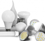 Лампы и светильники светодиодные