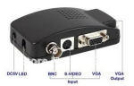 BNC, S-Video - VGA монитор, видео конвертер
