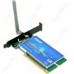 PCI WIFI 802.11G адаптер wi-fi антенна