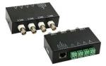 4-канальный пассивный UTP BNC видео трансивер CCTV