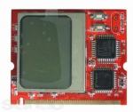 Mini PCI POST карта с текстовым оповещением, анализ