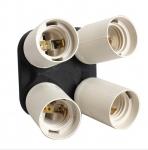 Розгалужувач 1 на 4 патрона E27 адаптер перехідник
