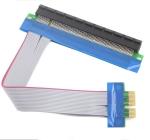 PCI-E 1X to 16X шлейф 15см -удлинитель для видеокарты