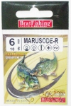 Крючки BratFishing MARUSODE-R, №8