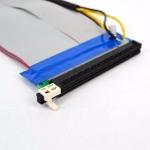 Райзер riser шлейф PCI-E PCIe PCI express 16x 16x с дополнительным питанием