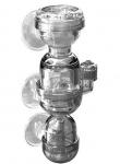 HH 4в1 диффузор, дропчекер и счетчик пузырьков CO2 (S)