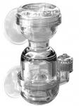 HH 3в1 диффузор, обратный клапан и счетчик пузырьков CO2 (S)