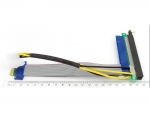 Райзер PCI Express x1-x16 (19см) с доп питанием (Molex)