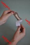 Cтельки от натирания пятки из натуральной кожи