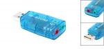 USB звуковая карта 3D Sound 5.1- внешняя звуковая карта для ПК