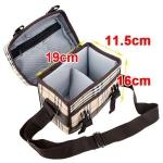 Стильная сумка для фотоаппаратов canon,  nikon, sony, pentax, olympus с дизайном в клетку