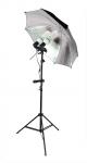 Держатель двух ламп, зонта, поворотный, крепление