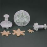 Набор плунжеров Снежинка тоненькая (3 штуки)