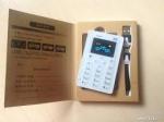 Ультратонкий мобильный телефон-кредитка Aeku M5