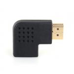 Переходник HDMI-HDMI (HDMI мама - HDMI папа) угловой, 90 градусов правый