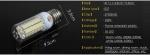 Лампа светодиодная Foxanon Е27 высокой яркости, цвет желтый, 3000K