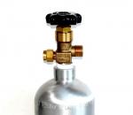 Alsafe алюминиевый баллон СО2 1,4 литра