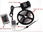 Светодиодная лента RGB+Пульт+Контроллер влагозащищенная IP65 - прекрасная управляемая гирлянда