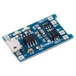 Модуль зарядки литиевых батарей, micro USB, Arduino