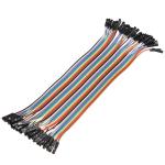 10x Dupont Дюпон кабель мама-мама 20 см для Arduino