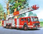 Пазл Пожарная машина 24 шт, 4+