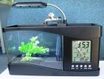 USB Аквариум с LED подсветкой и LCD часами (1,5л)