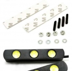 Дневные ходовые огни 2х3 LED супер-яркая подсветка