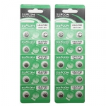 10x Батарейка таблетка AG3 LR41 192, алкалайн, 1 упаковка