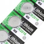 5x Батарейка-таблетка CR2016 DL2016 LM2016, литий, 1 упаковка