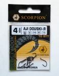 Крючок Scorpion AJI DOUSKI-R №4