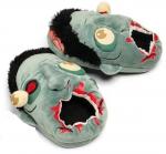 Мягкие домашние тапочки в стиле зомби тапки
