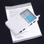Тестер сети RJ45, BNC, RJ11, USB, подробный анализ