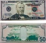 Кошелек, бумажник, портмоне, визитница 50 долларов