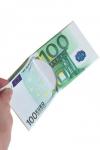 Кошелек, бумажник, портмоне, визитница, 100 евро