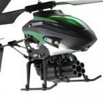 РУ вертолет WLToys V398 с ракетной установкой 3кан