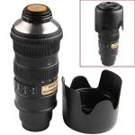 Термос объектив Nikon 70-200 мм 1:1 чёрный, чашка, кружка