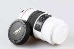 Чашка-термос объектив Canon EF 100 мм белая, кружка