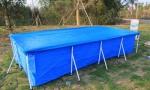 Складной каркасный бассейн 221х150х43см