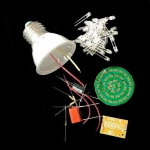 Конструктор LED лампа, лампочка 2,4 Вт, собери сам
