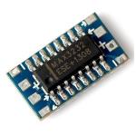 Мини-конвертер адаптер RS232-TTL MAX3232 Arduino