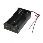 Бокс на 2 батареи 18650, 7,4 В, питание Arduino