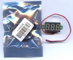 Цифровой вольтметр 0-100В LED измеритель вольтажа