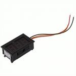 Цифровой вольтметр 4,5-30В LED измеритель вольтажа