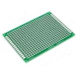 PCB 5х7 см двусторонняя печатная плата