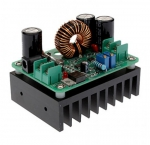 Повышающий конвертер тока, 10-60 В на 12-80 В, 600 Вт