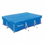 Тент накрытие для каркасного бассейна Bestway 58103